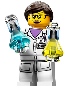 lego lady scientist